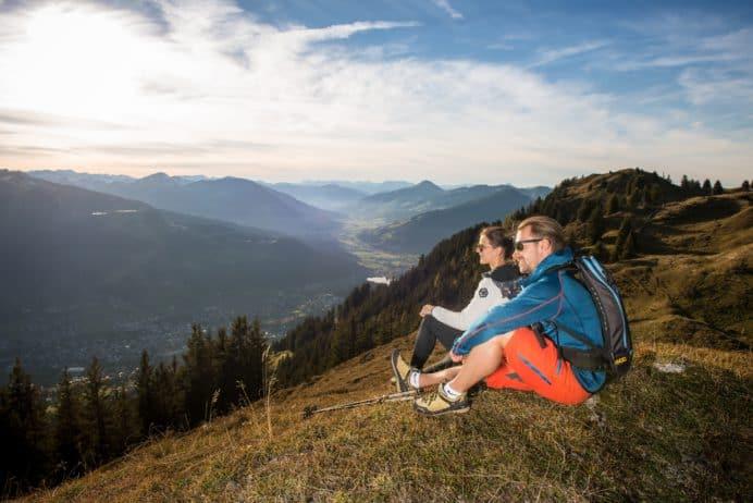 Reichlich Outdoor-Aktivitäten in Altenmarkt-Zauchensee, Kitzbühel, im Pitztal etc.