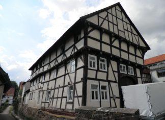 DSD fördert Fachwerkwohnhaus am Hochzeitsberg in Grebenstein.