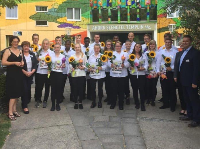 70 neue Auszubildende für fünf Hotels der Ahorn Hotels & Resorts.