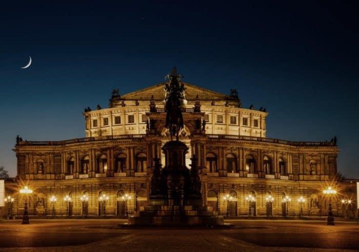 Die Architektur in Dresden: Kontinuität und Wandel.