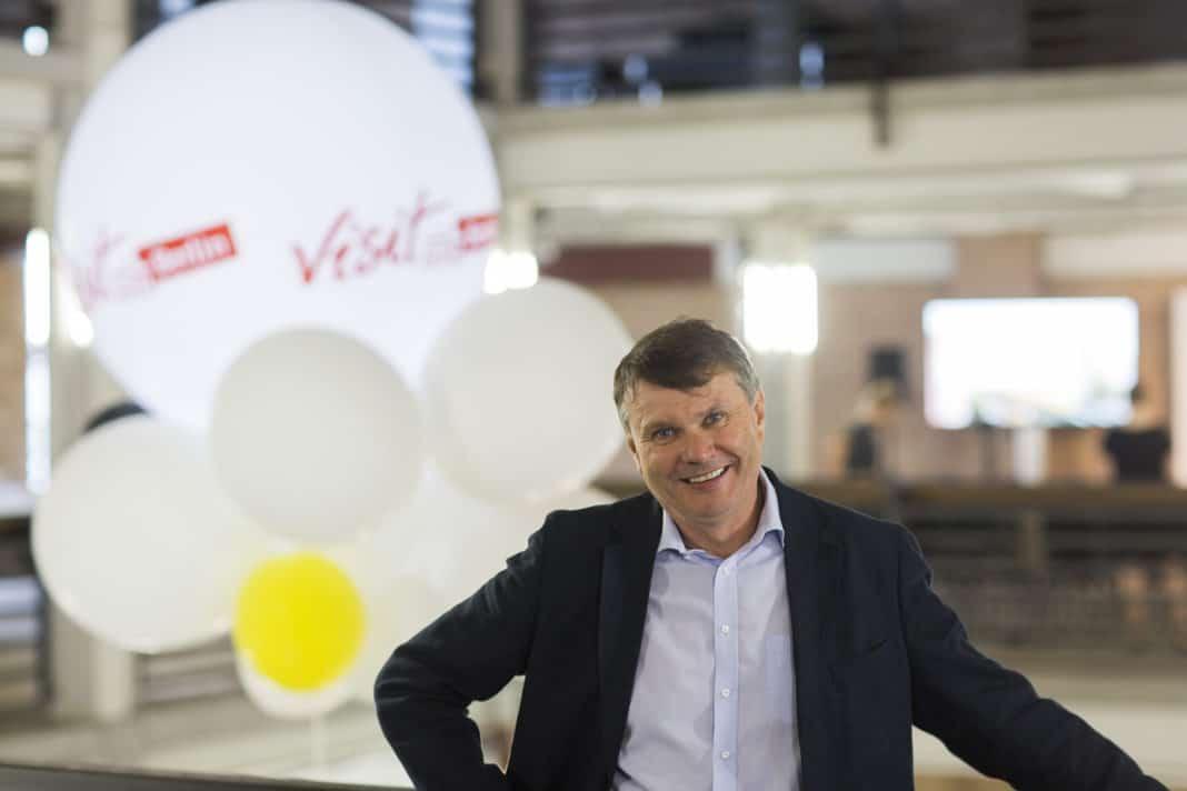 visitBerlin-Geschäftsführer Burkhard Kieker.