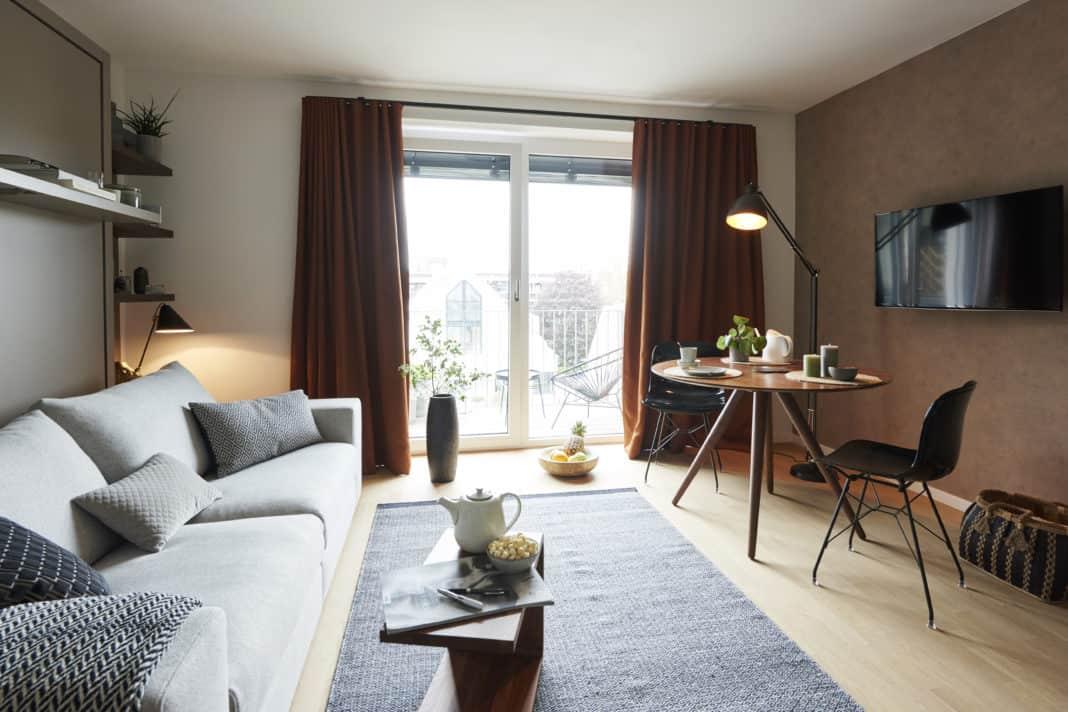 BelForm-Micro-Living Apartments in München in Rekordzeit vermietet.