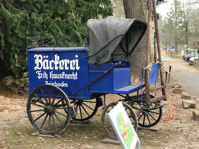 Alte Brotwagen, Ausstellungsstück Europäische Brotmuseum
