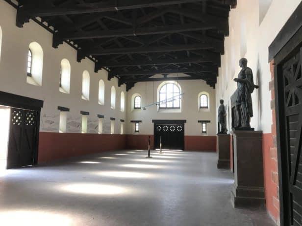 Empfangshalle Römerkastell Saalburg