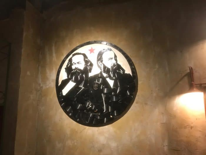 Logo im Marx & Engels