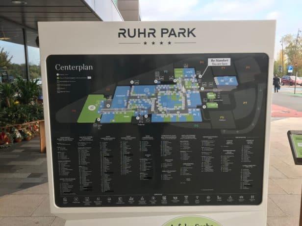 Lageplan Ruhr Park Bochum