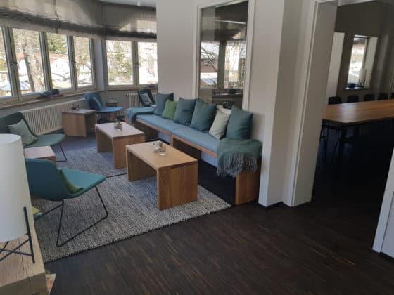 Villa Bodeblick Lounge Tagungsraum