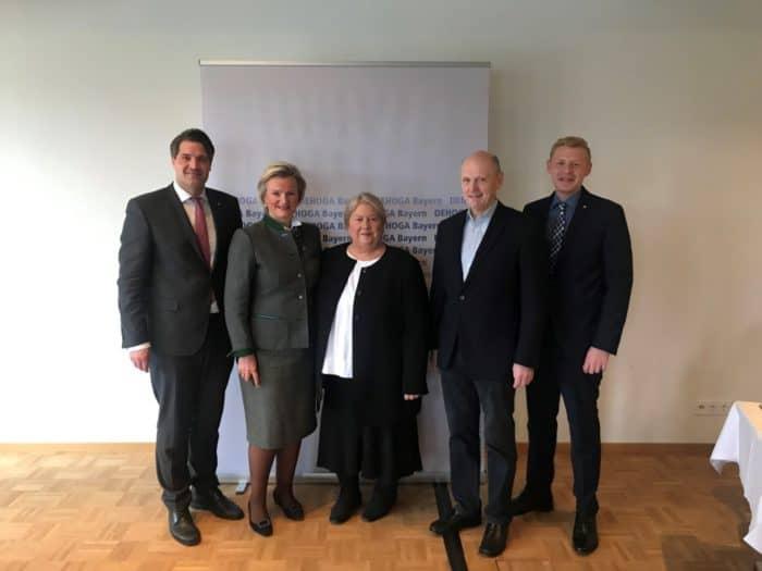 Neuwahlen im Fachbereich Gastronomie des DEHOGA Bayern