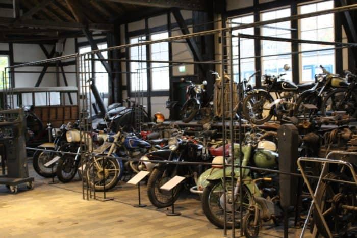 Motorräder Technikmuseum