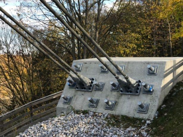 "Stahlseihle Hängebrücke ""Titan-RT"""