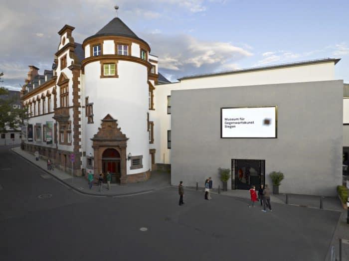 Außenansicht Museum für Gegenwartskunst