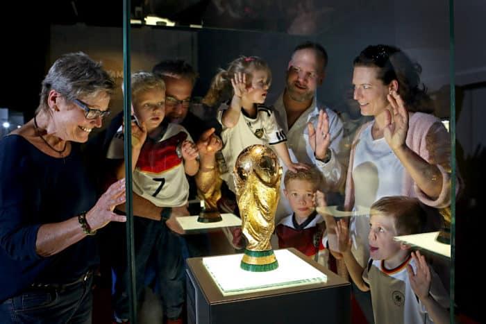 Schatzkammer im Deutschen Fußballmuseum Dortmund