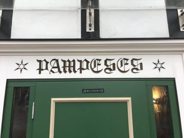 Schriftzug Pampeses Hilchenbach