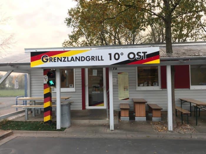 Blick auf Grenzlandgrill Eichsfeld