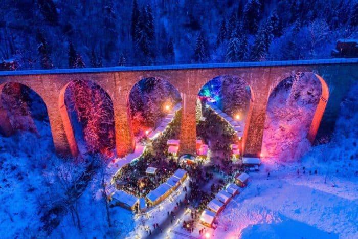 Höhepunkt im Advent: Weihnachtsmarkt Ravennaschlucht