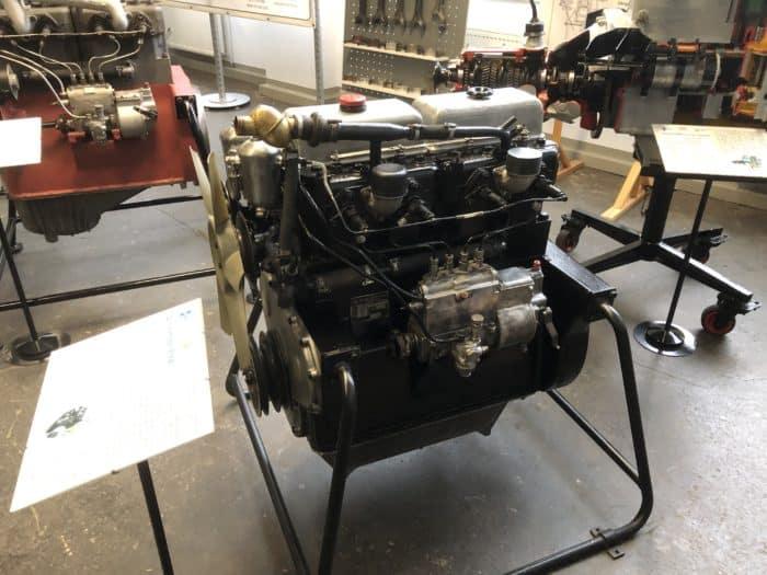 Ifa-Museum Nordhausen, Dieselmotor
