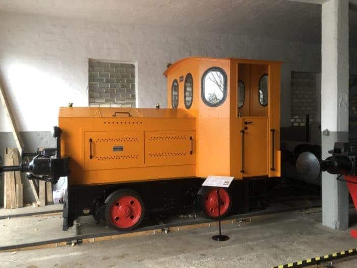 Lok aus der Produktion von O & K