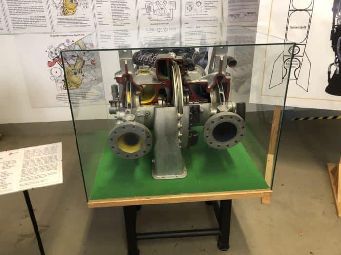 Ifa-Museum Nordhausen, V2-Turbopumpe