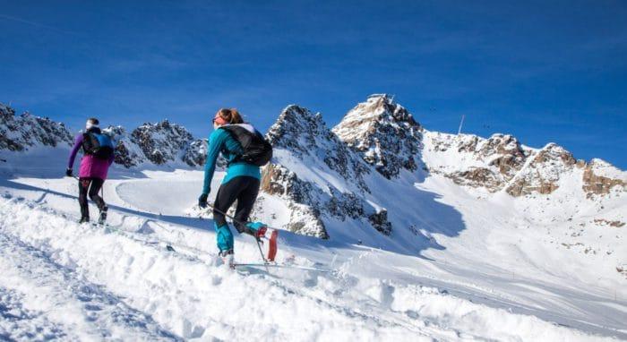 Tirols erster Skitourenpark punktet mit Sicherheit und Service