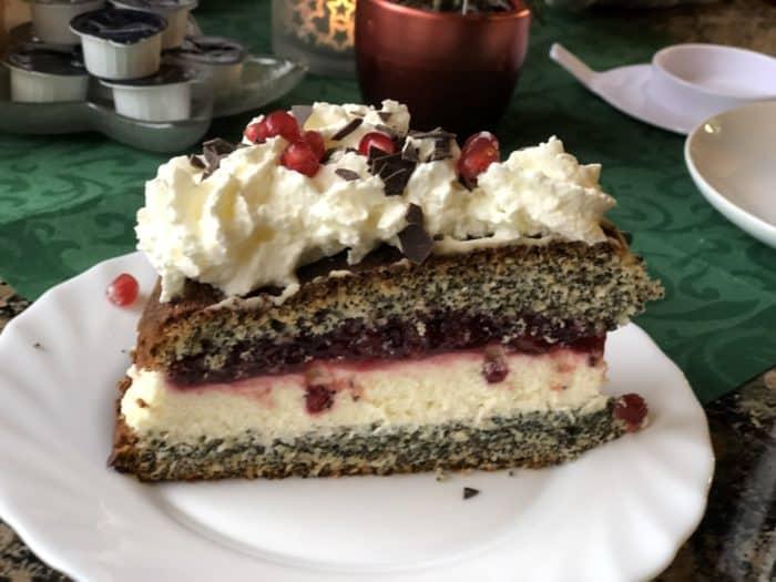 Mohnkuchen Cafe im Schloss Ilsenburg