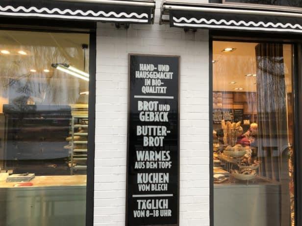 Außenansicht Brotmanufaktur Das Brot.