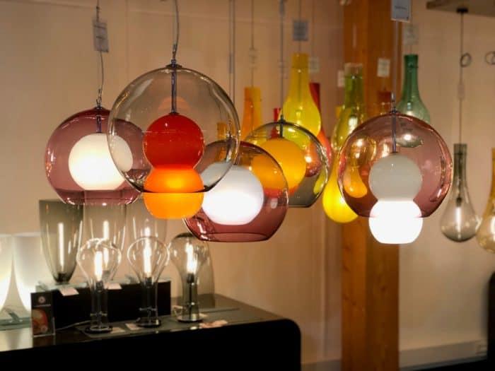 Skurile Deckenlampen aus der Produktion Harzkristall
