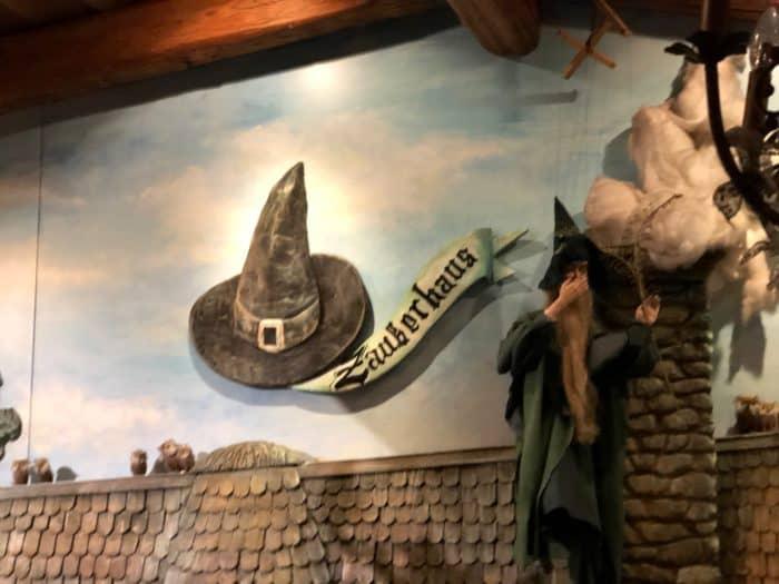 """Innenansicht Restaurant """"Die Kleine Zauberwelt"""""""
