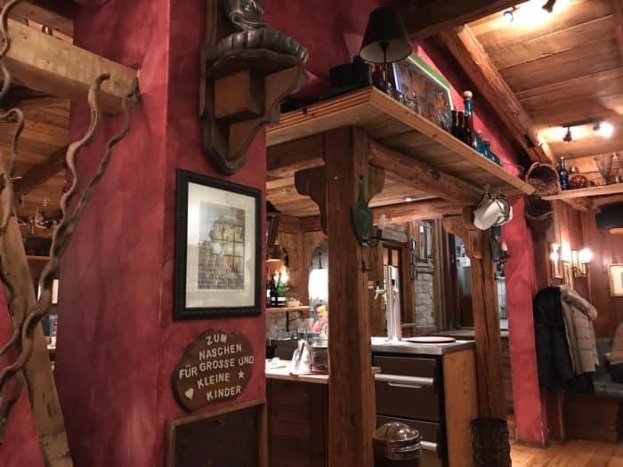 """Theke Restaurant """"Die kleine Zauberwelt"""" Braunlage"""
