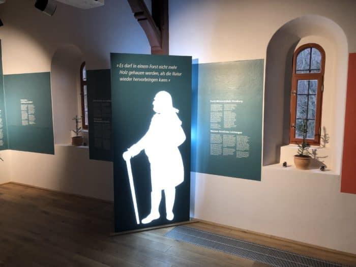 Ausstellung Waldwirtschaft Kloster Ilsenburg