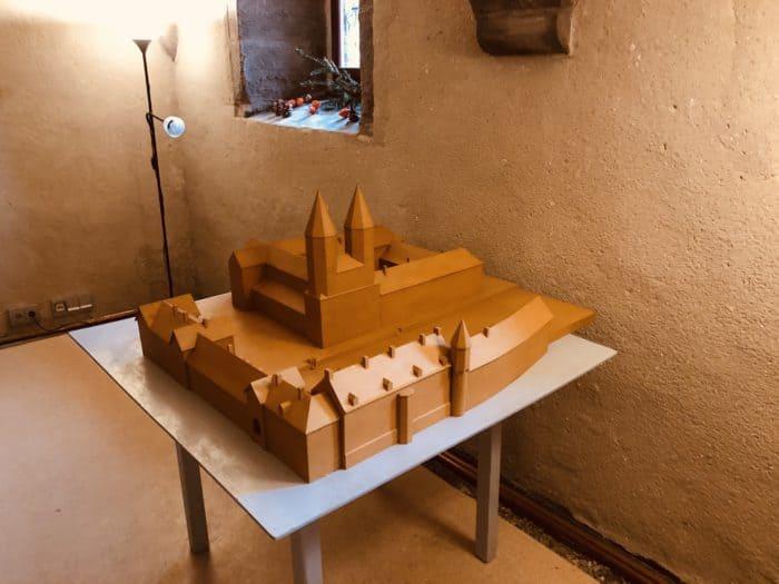 Modell Kloster Ilsenburg