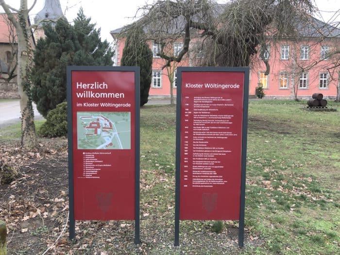 Besucherinfo: Kloster- und Gebäudeplan