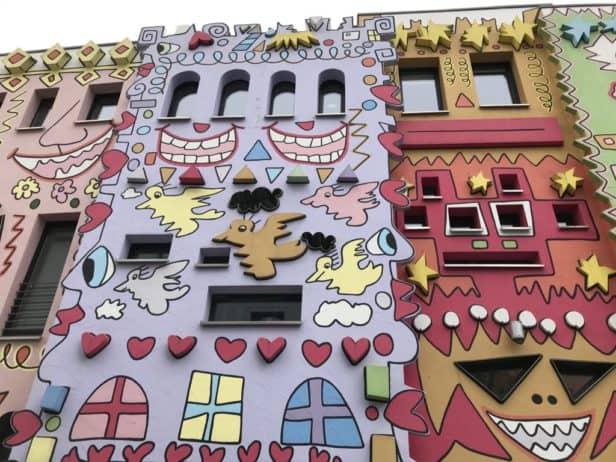 Rizzi Haus Braunschweig; bunt und farbenfoh