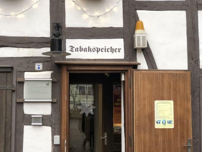 Tabakspeicher Nordhausen, Mueseumseingang