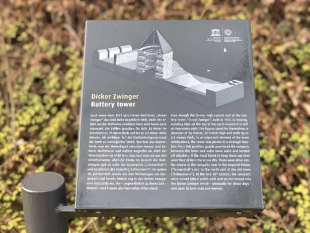 Skizze Zwinger Goslar