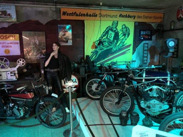 Motorräder im Automuseum Dortmund