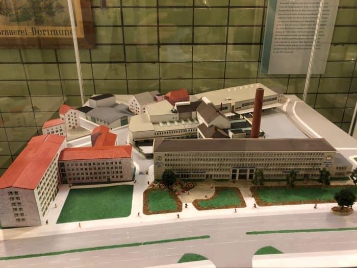 Fabrikmodell Brauerei Dortmund