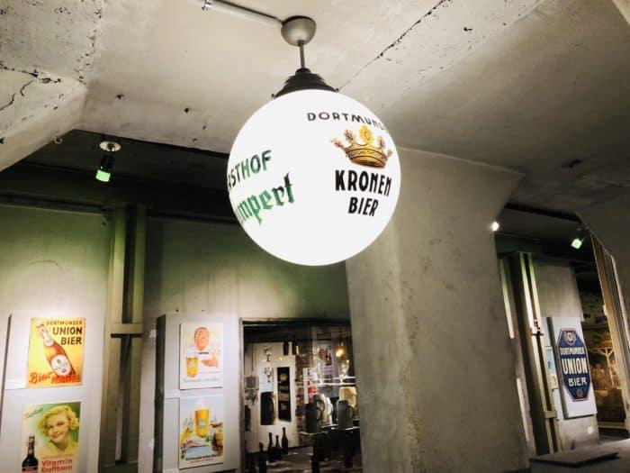 Lampe Kronen Bier Dortmund