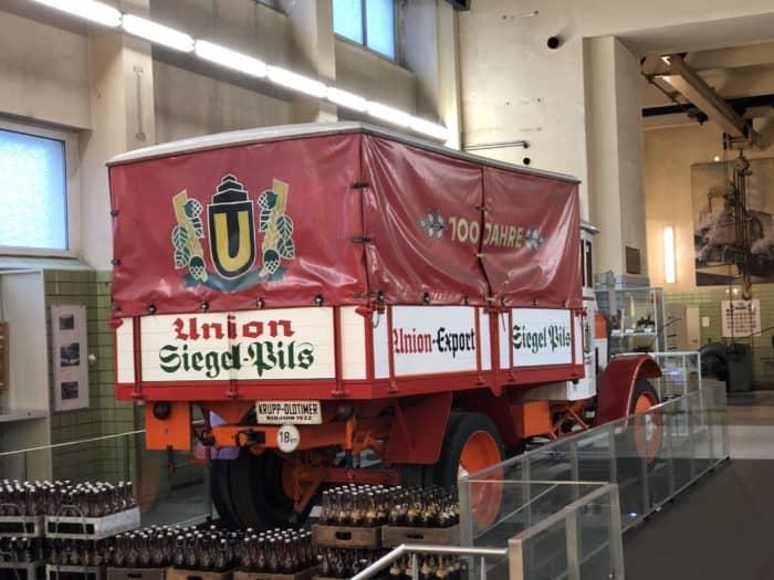 Brauereimuseum Dortmund, LKW Siegel Pils