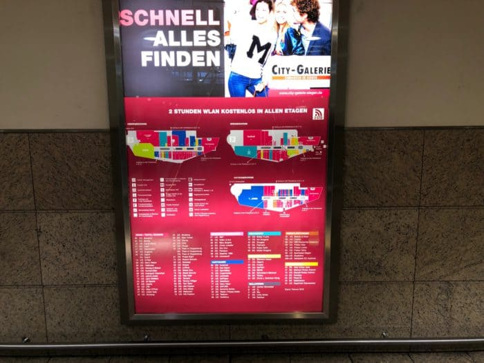 city-galerie-siegen-hinweistafel-e1548614307622 Shoppen, genießen und verweilen in der City-Galerie Siegen