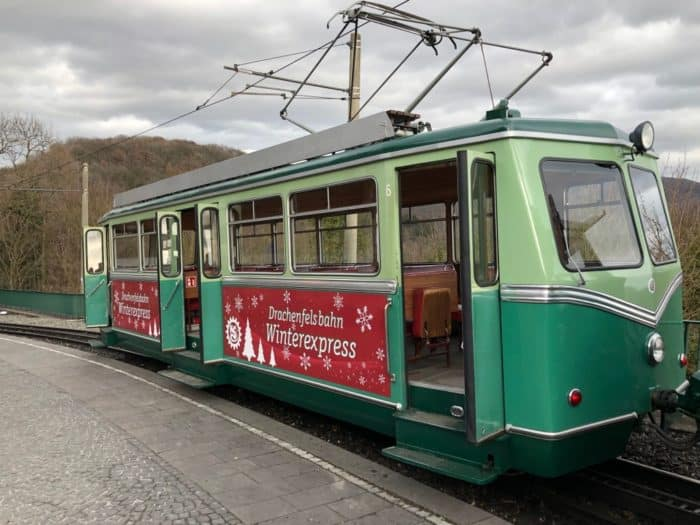 Hitsorische Drachenfelsbahn