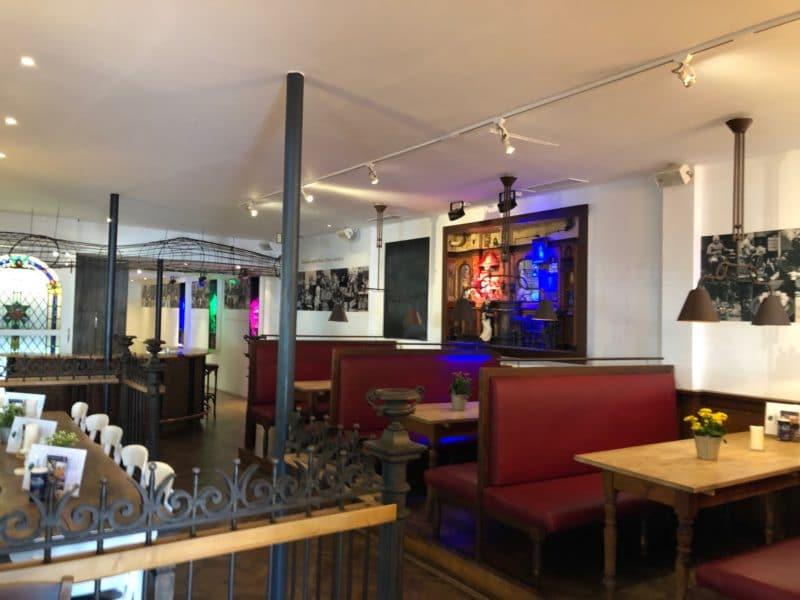Innenansicht Restaurant Hammerhütte in Siegen