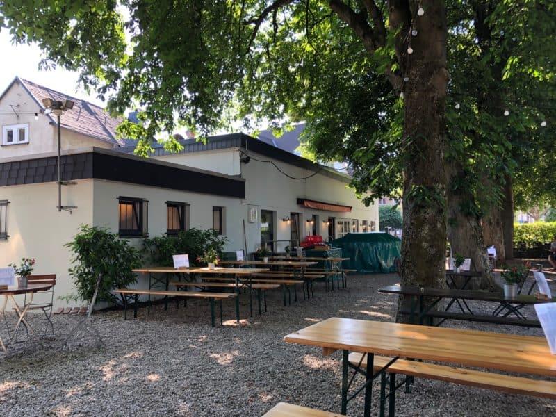 Biergarten im Grünen, direkt in der Siegener City