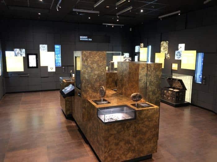 Alte Zahlungsmittel im Geldmuseum Frankfurt
