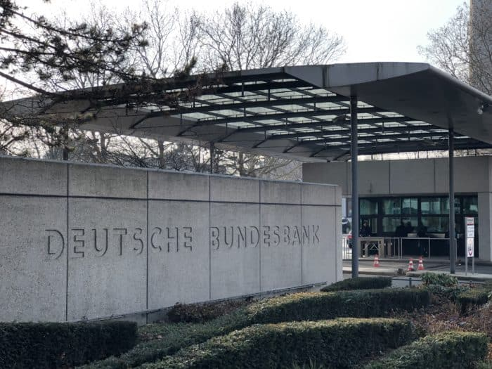 Außenansicht Gebäude der Deutschen Bundesbank