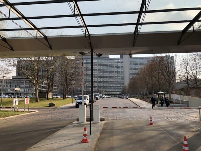 Blick auf Deutsche Bundesbank
