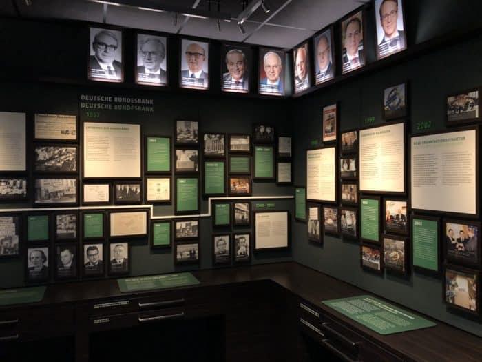 Ausstellung Deutsche Zentralbankengeschichte im Geldmuseum Frankfurt