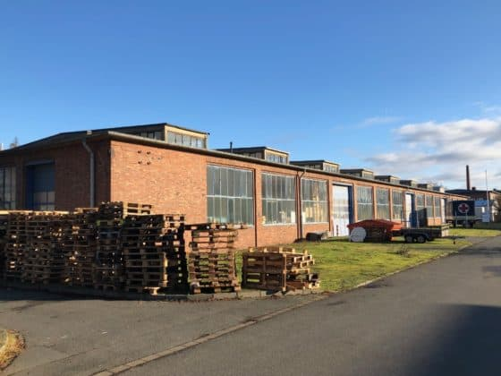 Ehemaliges Produktionsgebäude für Hülsen
