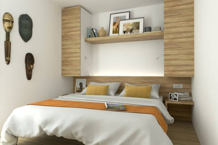 Schlafzimmer Afrika-Erlebnispark Stukenbrock