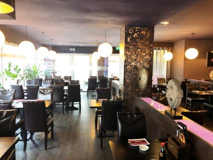 Gastraum japanisches Restaurant Siegen