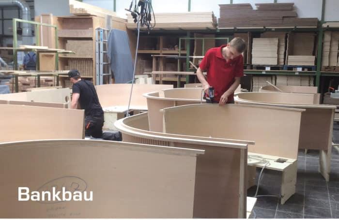 Bankbau Stuhlfabrik Schnieder